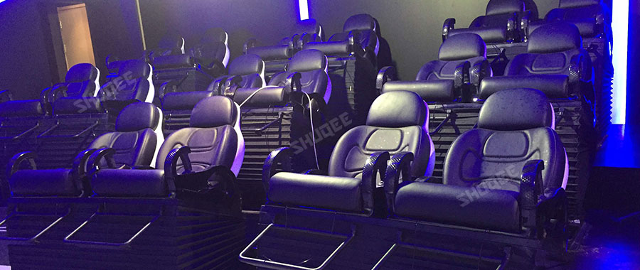 Newest Project in Kuwait, Virtual Reality 5D Cinema With 20 Luxury Dynamic Movie Seats