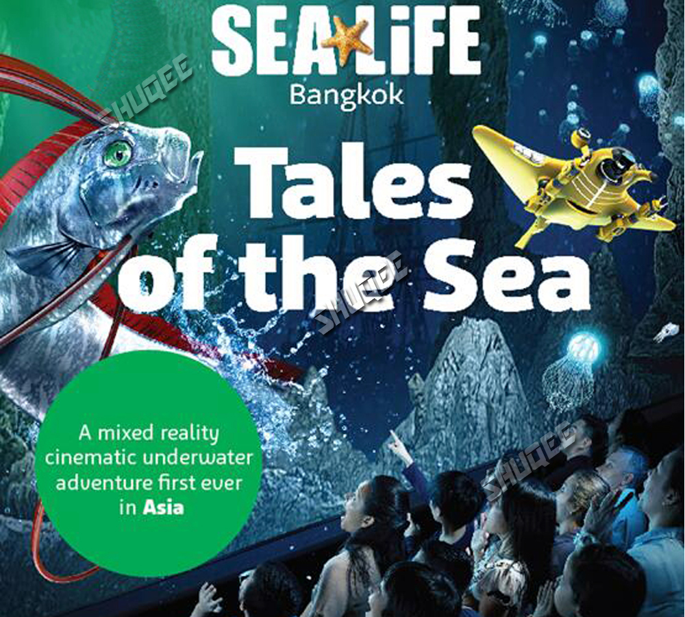 Sea Life Bangkok Ocean World-Upgrade 4D Cinema