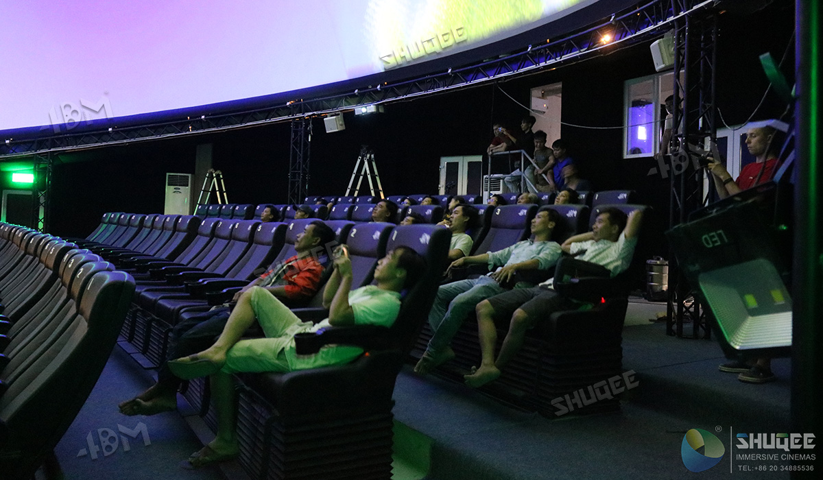 The First Motion 5D Dome Cinema in Vietnam - 4D Theater_5D Cinema_7D