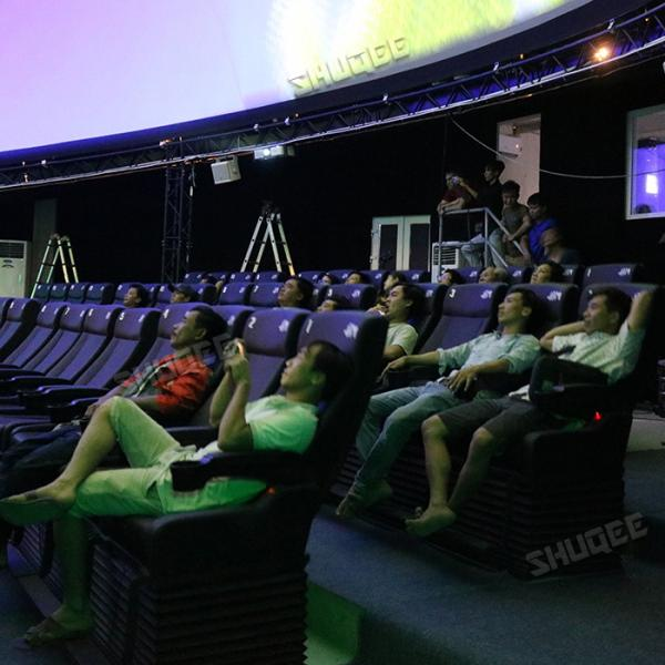 The First Motion 5D Dome Cinema in Vietnam